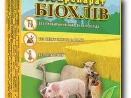 """Биопрепарат """"Биохлев"""" для ферментационной подстилки."""