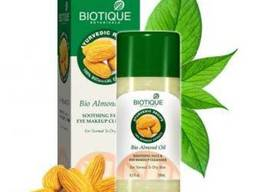 Biotique Bio Almond Oil Soothing FACE & EYE Makeup Cleanser Био Миндальное Масло. ..