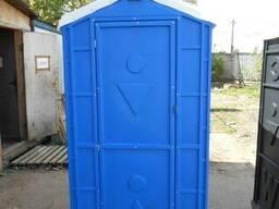 Туалетная кабина мобильная, биотуалет, на дачу, на стройку