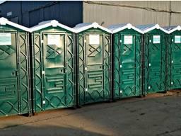 Биотуалет передвижной, туалетная кабина