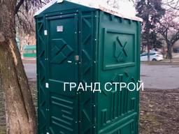 Биотуалет, душевая кабина. Уличный туалет и душ
