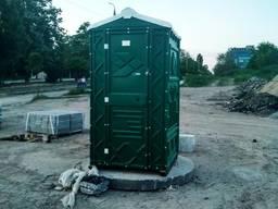 Биотуалет уличный, кабина передвижная, душ
