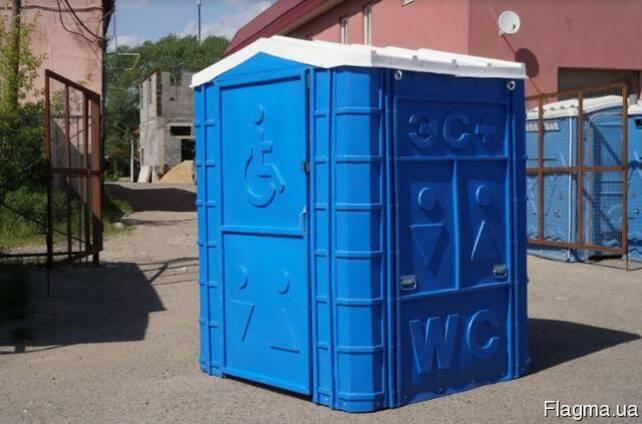 Биотуалет уличный (кабинка) для инвалидов