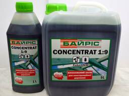 Биозащита для конструктационной древесины концентрат 1: 9 Б
