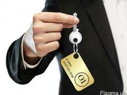 Бирки на ключи (металлические) с логотипом вашей организации