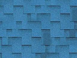 Битумная черепица Шинглас Джайв аккорд (синий) (3м2)