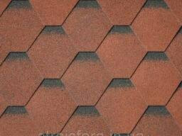 Битумная черепица Superglass Hex (20) Tile Red ultra, IKO. ..