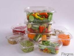 Блистерная универсальная упаковка для пищевых продуктов.