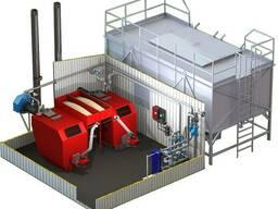 Блочная модульная котельная на твердом топливе мощностью 500