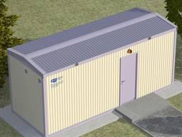 Блочно-модульні контейнерні насосні станції водопостачання