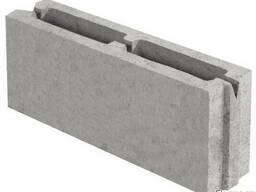 Блок бетонний перегородочний 390х90х188