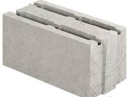 Блок бетонний стіновий 390х190х188