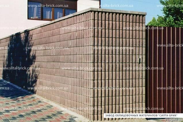Блок декоративный канелюрный угловой