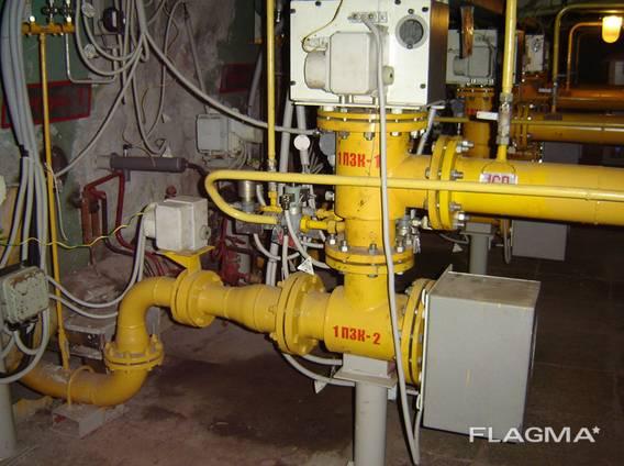 Блок газооборудования БГ 3.00 з отсечнымы клапанамы