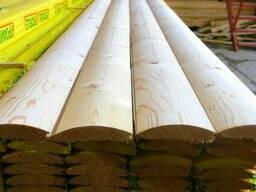 Блок-хаус 90 мм-толщина 20мм,Недорого в Феодосии