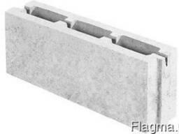 Блок керамзитобетонный перегородочный 500х110х200