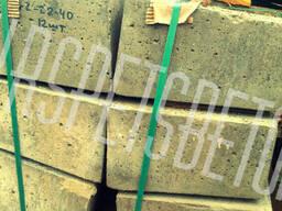 Блок лотка Б 2-22-40, для водоотвода, дорожный дренаж