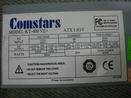 Блок питания Comstars KT-400 VE 400 ватт