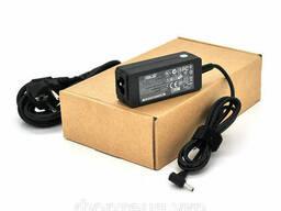 Блок питания для ноутбука ASUS 19V 2.37A (45 Вт) штекер 3,0*1,35мм, длина 0,9м + кабель. ..