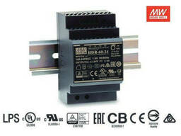 Блок питания Mean Well на DIN-рейку 60W DC24V (HDR-60-24)