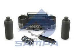 Блок привода суппорта (биноколь) c резьбовыми втулками. ..
