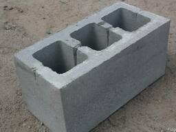 Блок стеновой 390х190х190