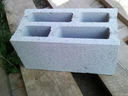 Блок стеновой (шлакоблок) из отсева гранита.