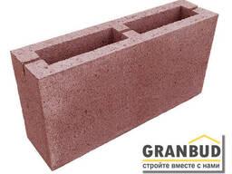 Блок строительный вибропрессованный, камень строительный