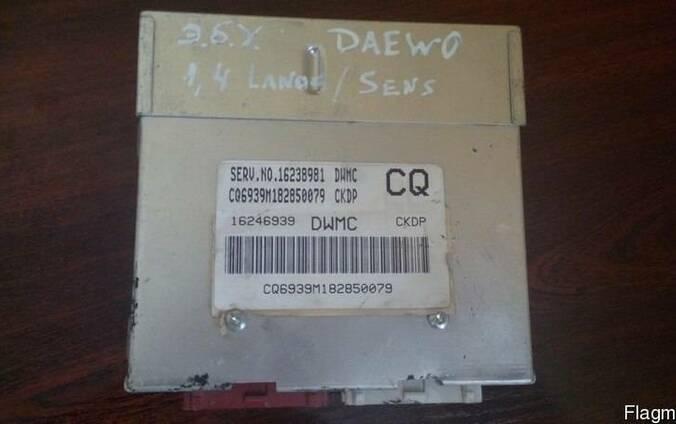 Блок управления двигателем Daewoo Lanos 1, 4. 16246939.