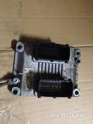 Блок управления двигателем ECU ЭБУ Z10XEP Opel Corsa С. ..
