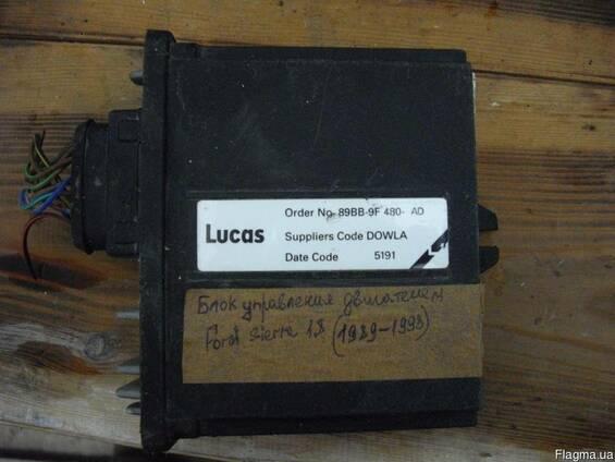 Блок управления двигателем Ford Sierra номер 89BB-9F480-AD