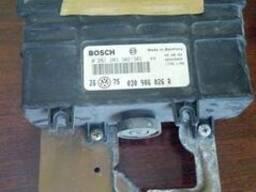 Блок управления двигателем Golf 3 030906026R, 0261203302/303 - фото 1