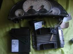 Блок управления двигателем комплект 1. 7cdti Opel Combo
