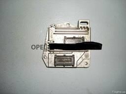 Блок управления двигателем Opel Astra H Z16XEP б/у на Опель