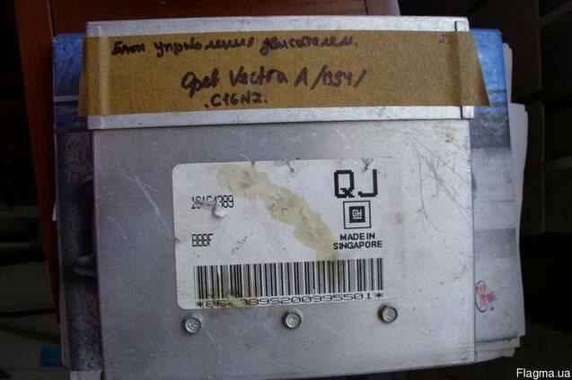 Блок управления двигателем Opel Vectra A. 06164389