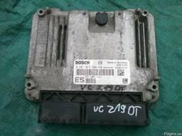 Блок управления двигателя Opel Vectra C 0281013409