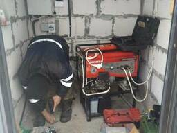 Блок управления воздушной заслонкой (подсос) генератора