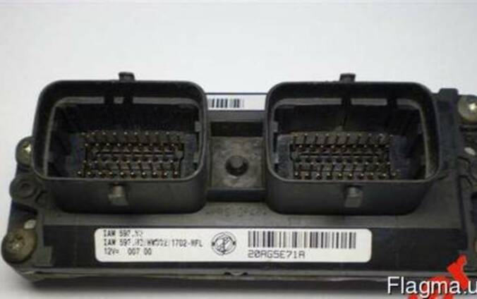 Блок управління Fiat Punto Doblo 1.2 IAW59F.E4 IAW59F.SC