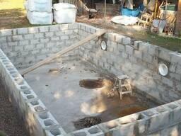 Блоки для бассейнов Николаев Шлакоблок для фундамента