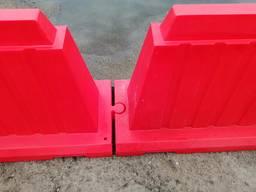 Блоки, дорожные, водоналивной