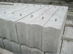 Блоки фундаментные 3, 4, 5, 6