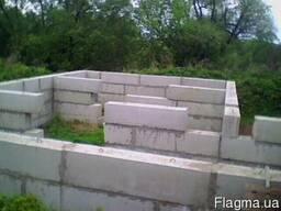 Блоки фундаментные б/у.Ж.Б.изделия