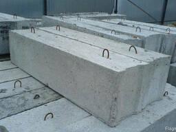 ФБС 24. 3. 6-т 2380x300x580 Блоки бетонные для стен подвалов
