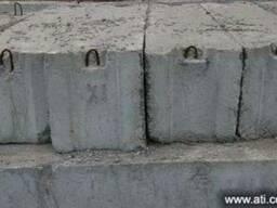 Блоки фундаментные с доставкой.