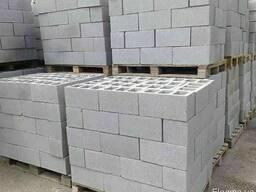 Блоки з відсіву Вібропресовані
