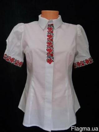 Блуза украинская вышитая, женская, вышиванка
