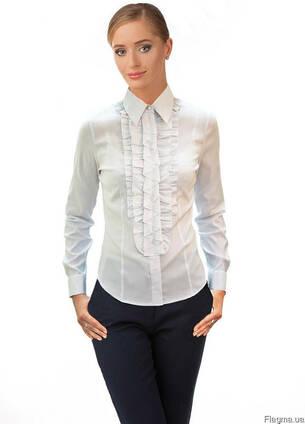 Блуза женская белая, мужская, женская, для администраторов