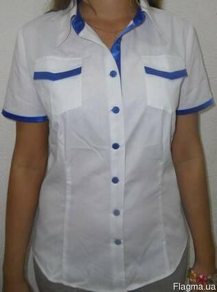 Блуза женская для сферы обслуживания