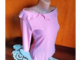 Блузка с открытыми плечами разм. M/L вискоза распродажа-50%