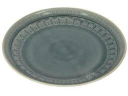 Блюдо Exotic серое 3х26 см SKL11-209330